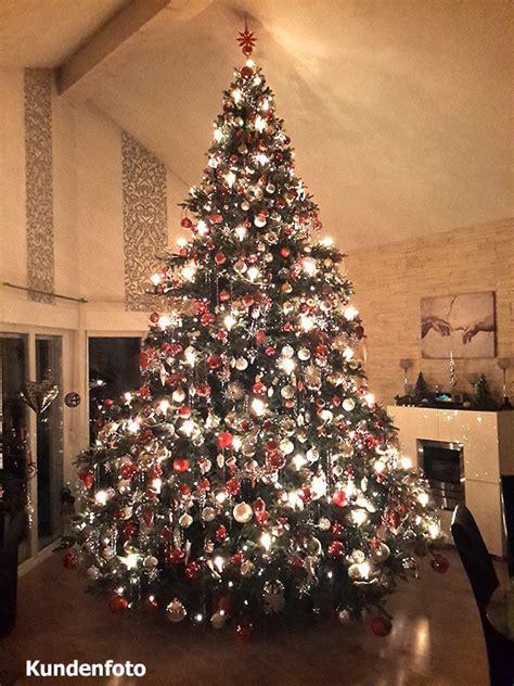 edeltanne weihnachtsbaum k 252 nstliche spritzguss nobilis edeltanne oxburgh ca 400cm