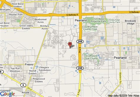pearland tx map of courtyard houston pearland rosharon