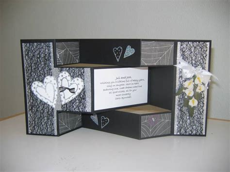 how to make tri fold cards tri fold wedding card by chris bjornstedt at