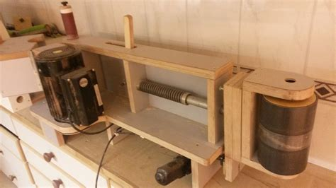 made by woodworking shop made oscillating edgesander by corydoras