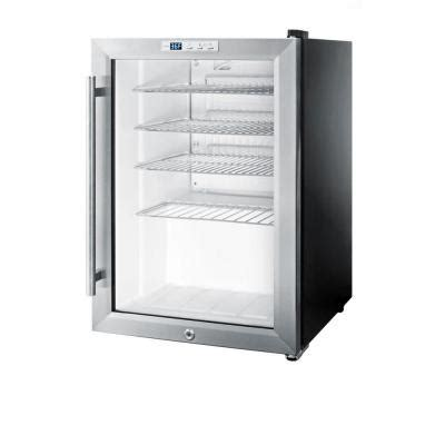 home refrigerator with glass door summit appliance 2 5 cu ft glass door mini refrigerator