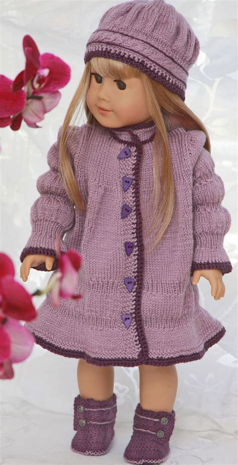 knitting patterns for american dolls doll dress knitting pattern dress patterns for american