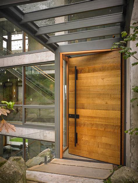 wood exterior front doors 50 modern front door designs