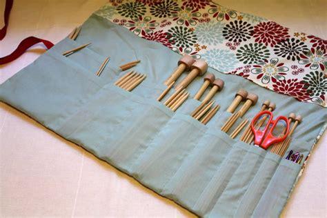 zippered knitting needle knitting needle with zipper pocket by skadoot on etsy
