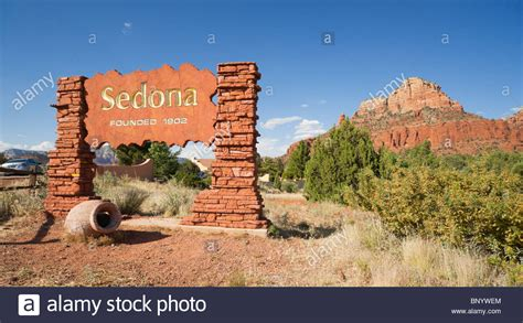 sedona arizona sedona arizona sedona city limits sign entering from