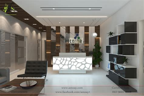 design interiors software house reception area designed by aenzay aenzay