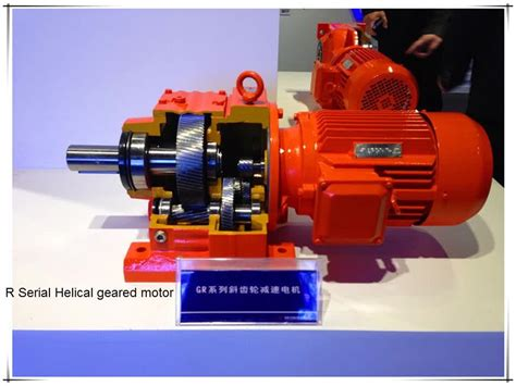 Electric Motor Reducer by Mining Industrial Gearbox Electric Motor Speed Reducer