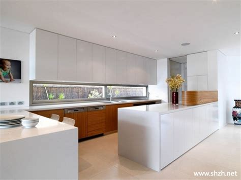 architect kitchen design 现代简约厨房 上海装潢网