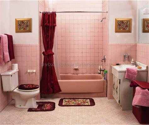 pink tile bathroom decorating ideas pink bathroom decorating ideas best bathroom vanities