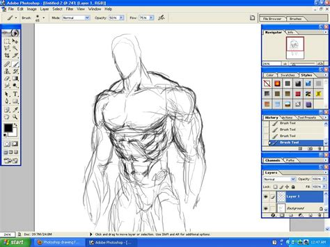 drawing in photoshop photoshop drawing practice 1 by doomsmith on deviantart
