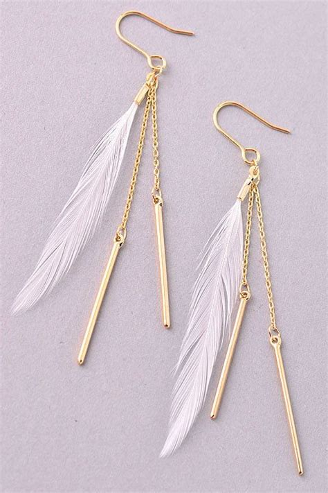 feathers for jewelry 25 best ideas about feather earrings on