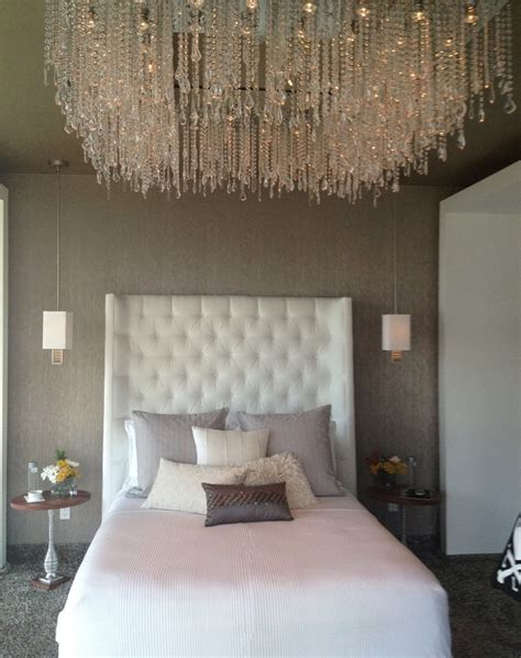 modern chic bedroom 31 outstanding tufted headboard ideas for your bedroom