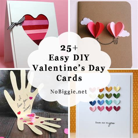 valentines day card ideas 25 easy diy s day cards