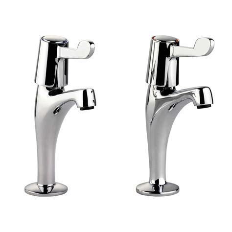 kitchen sink pillar taps leisure pillar lever tpt1cm lv chrome tap kitchen sinks