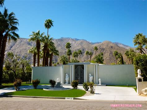 Decorated Houses For Halloween by Liberace S Third Palm Springs House Iamnotastalker