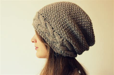cable knit slouchy hat pattern slouchy hat knitting patterns in the loop knitting