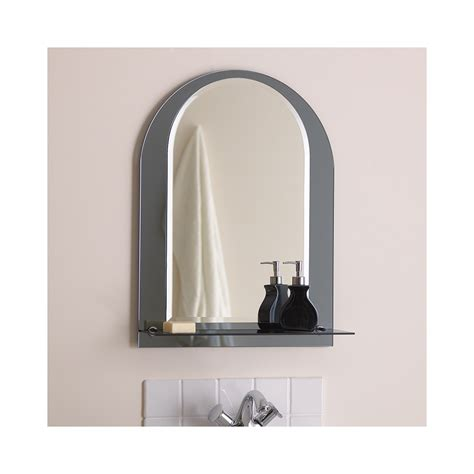 mirror shelf bathroom el lcaria bathroom mirror with chrome shelf lighting