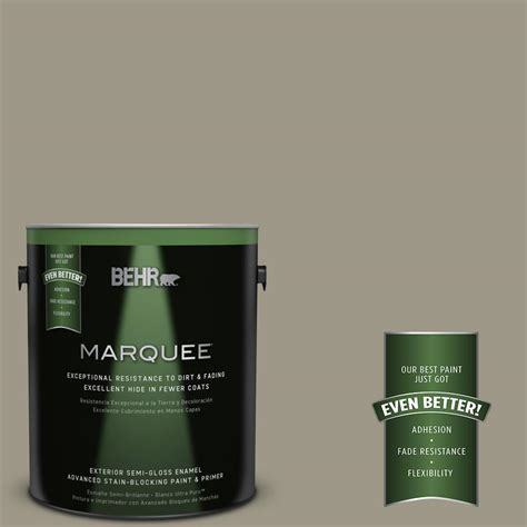 behr paint colors dusty behr marquee 1 gal ppu8 20 dusty olive semi gloss enamel