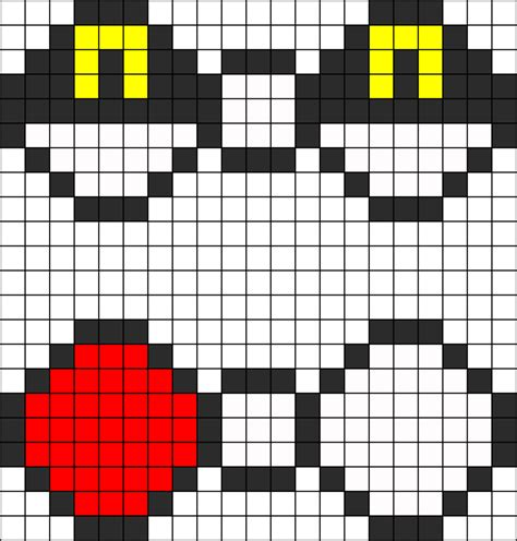 pokeball perler bead pattern ultra and pokeball bowtie perler bead pattern bead