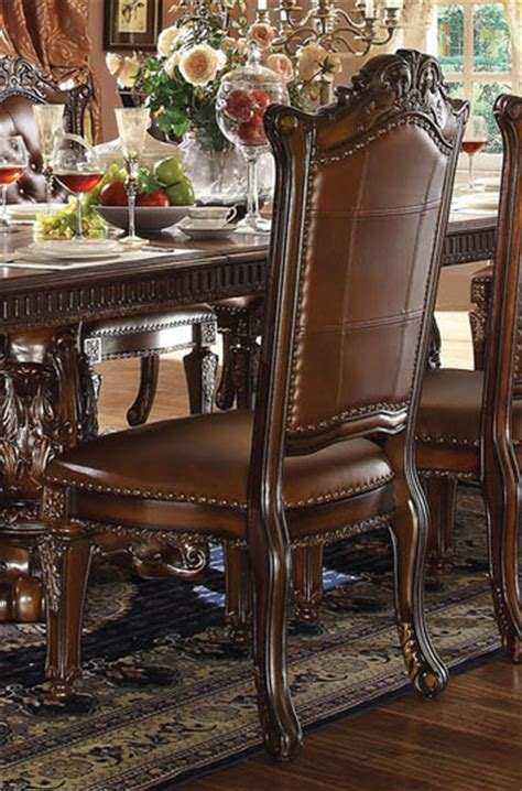 acme furniture dining room set vendome pedestal table dining room set by acme
