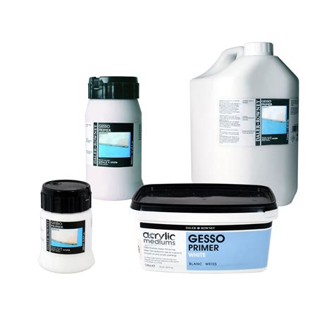 acrylic paint canvas primer daler rowney white gesso primer for acrylic paining