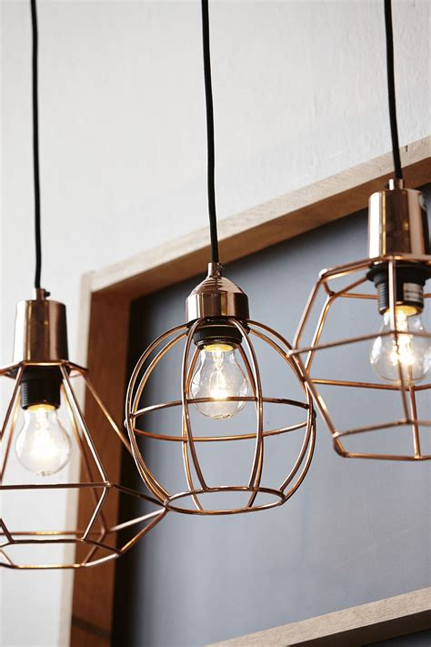 hanging light for kitchen 20 exles of copper pendant lighting for your home