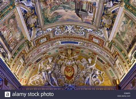 fresco vatican city ceiling fresco in the of maps vatican museum