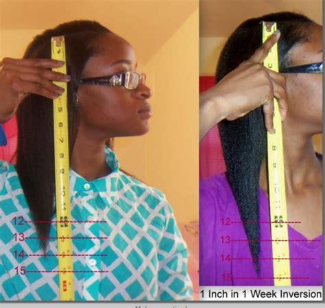 1 inch of hair fast natural hair growth all hair types trusper
