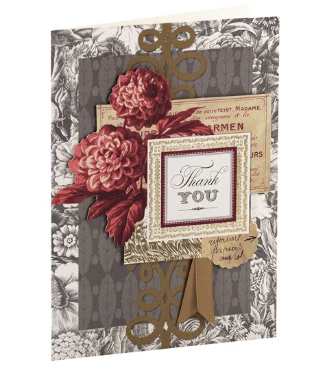 thank you card kits griffin card kit thank you jo