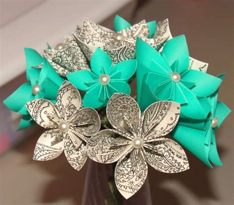 origami wedding bouquet best 25 origami bouquet ideas only on origami