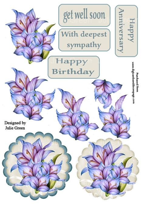 3d decoupage free downloads 1000 images about 3d get well on get well