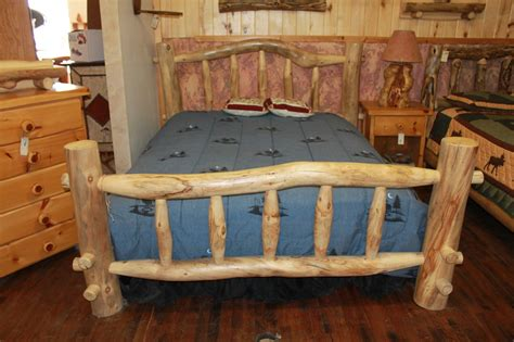 log wood bed frame how to build a wooden bed frame 22 interesting ways