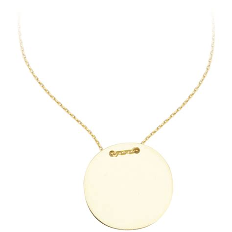 what is jewelry 14k yellow gold name plate necklace gold necklaces