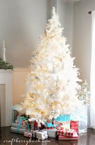decorate a white tree last minute tree decorating ideas for an enchanting