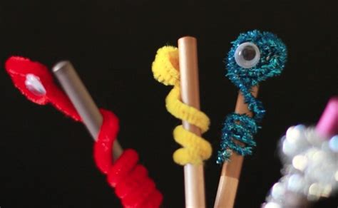 pbs crafts bookworm pencil toppers crafts for pbs parents pbs