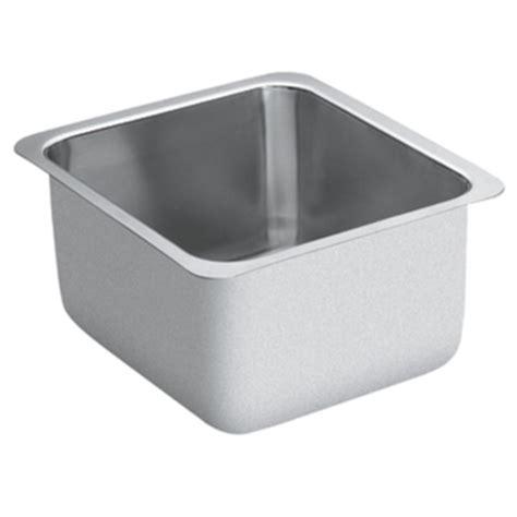 moen undermount kitchen sinks moen g18442 1800 series 18 bowl undermount