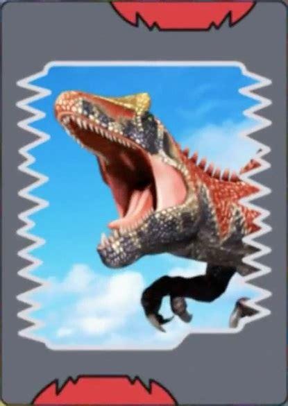 how to make dinosaur king cards image saurophaganax card 1 jpg dinosaur king
