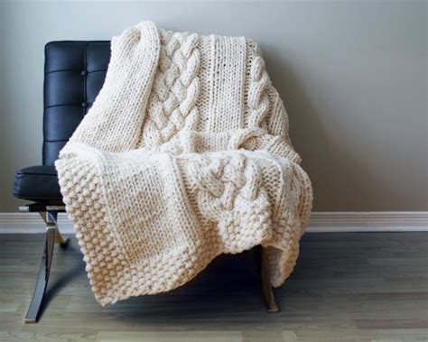 cool knitting 11 cool knit and crochet throw patterns to keep you warm