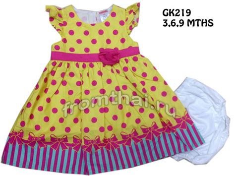gymboree wholesale supplier baby dress wholesale supplier from thailand