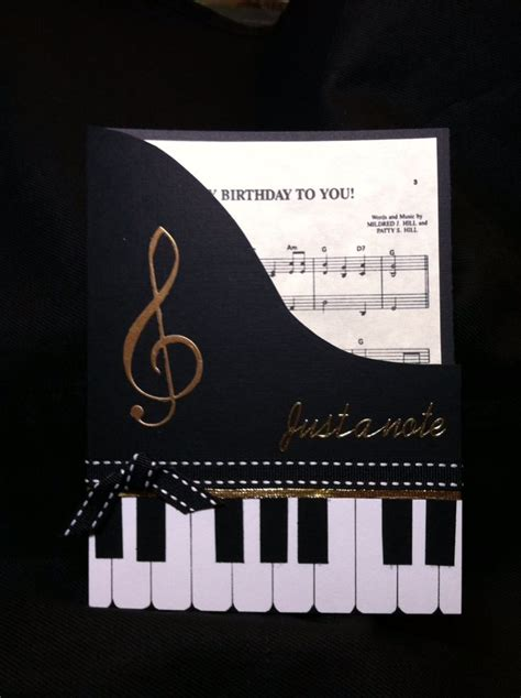 how to make a musical card 25 best ideas about musical birthday cards on