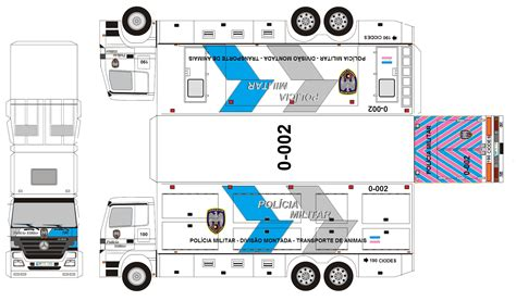 paper craft truck the gallery for gt papercraft truck templates