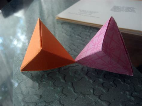 Origami Hexahedron By Musicmixer112 On Deviantart