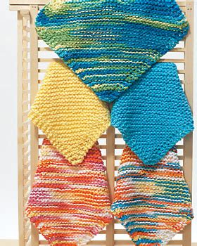 easy knit dishcloths easy ribbed knitting patterns free knitting and crochet