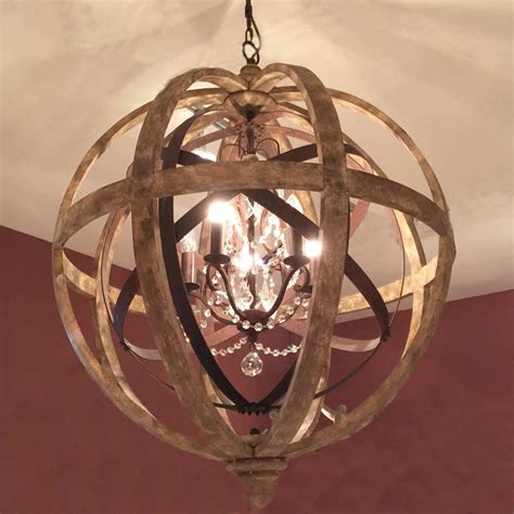 orb chandelier uk wooden orb chandelier metal orb detail and by