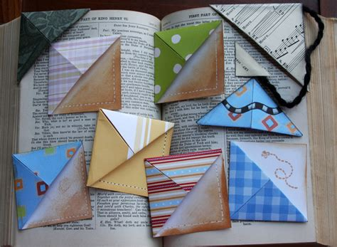 paper craft bookmarks 10 craft ideas that can use to make gifts