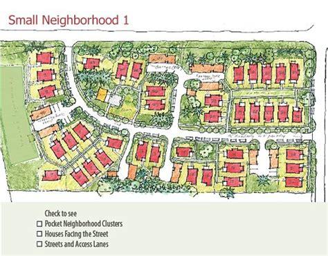 neighborhood plans 116 best pocket neighborhood site plans images on