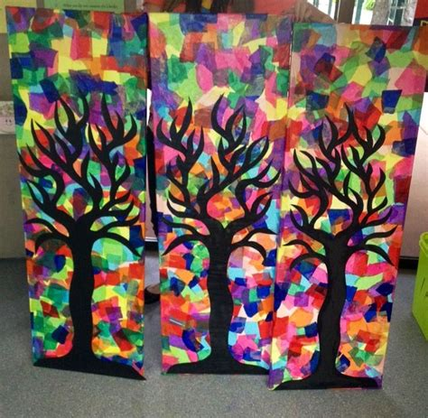 paper craft classes 1000 ideas about tissue paper trees on tissue