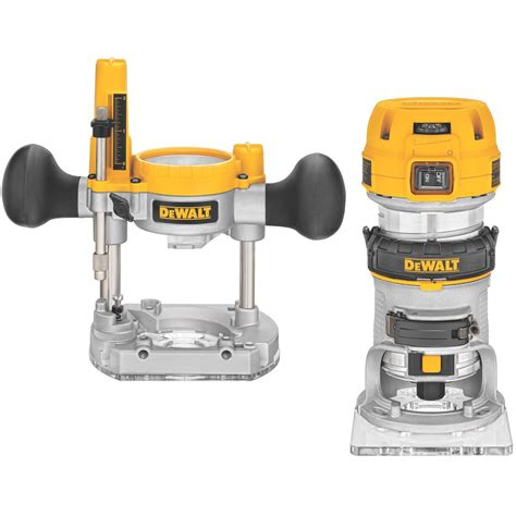 cordless routers woodworking dewalt dwp611pk 1 25hp wood router kit review wood