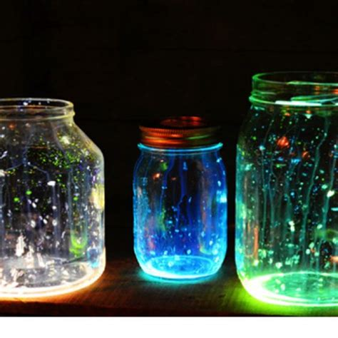 glow in the paint jars the world s catalog of ideas