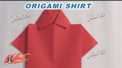 how to make an origami shirt how to make origami shirt for s day card